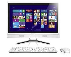 "Lenovo C460 Touch Ordinateur de bureau tactile 21"" Full HD Blanc ( Intel Core i3, Disque dur 1To, 4 Go de RAM, Intel HD Graphics, Windows 8.1)"