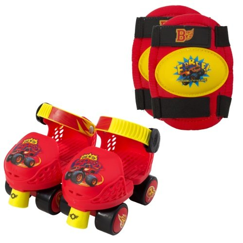 PlayWheels-Blaze-and-the-Monster-Machines-Kids-Roller-Skates-with-Knee-Pads-Junior-Size-6-12
