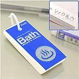 バスタイムも有効利用 お風呂で使える単語カード風呂単(大) SC218