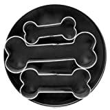 Fox Run Brands Dog Bone 3 Piece Cookie Cutter Set