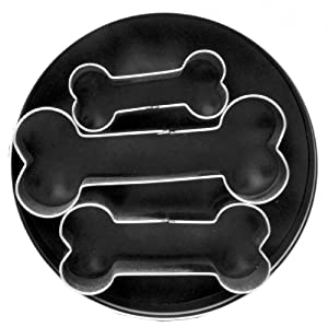 Fox Run 3683 Dog Bone Cookie Cutter Set