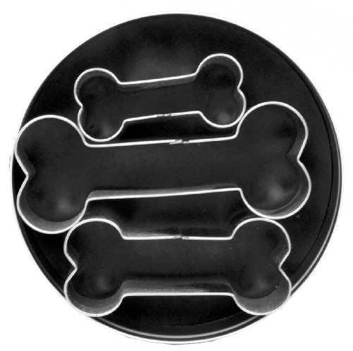 Fox Run Dog Bone Cookie Cutter Set