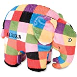 Elmer the Patchwork Elephant: Bean Bag by Kids Preferred