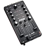 Akai Professional AMX - 2-channel Mixing Surface with Audio Interface for Control of 2-decks of Serato DJ