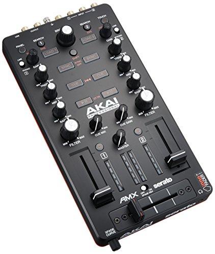 Akai AMX controller midi/usb con interfaccia audio 24-bit/96khz ottimizzato per Serato DJ
