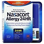 Nasacort Allergy, Multi-Symptom, Original Prescription Strength, 55 mcg, Nasal Spray, 0.37 fl oz (10.8 ml)