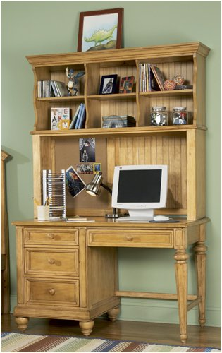 Buy Low Price Comfortable Broyhill 4226-381 Hampton Computer Desk in Coastal Pine (B001OSG588)