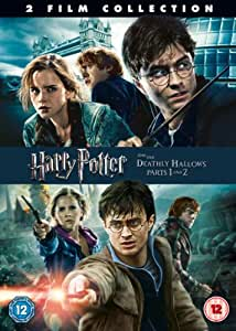 Harry Potter And The Deathly Hallows Parts 1&2 [DVD] [2011]