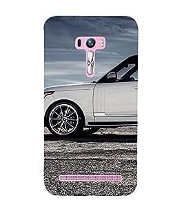 EPICCASE flashy range rover Mobile Back Case Cover For Asus Zenfone Selfie (Designer Case)