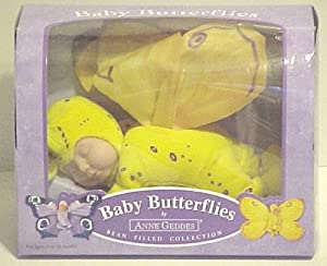Anne Geddes Yellow Baby Butterfly (10) by Anne Geddes