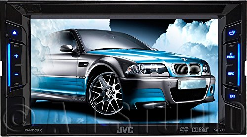Jvc KW-V11 In-dash DVD/CD/MP3 Receiver