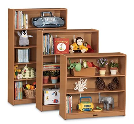 Sproutz Kid's Bookcase w 2 Shelves (36 in. H - Black)