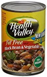 Health Valley Soup, Black Bean And Vegetable Fat Free, 15 Ounce Cans (Pack of 12)