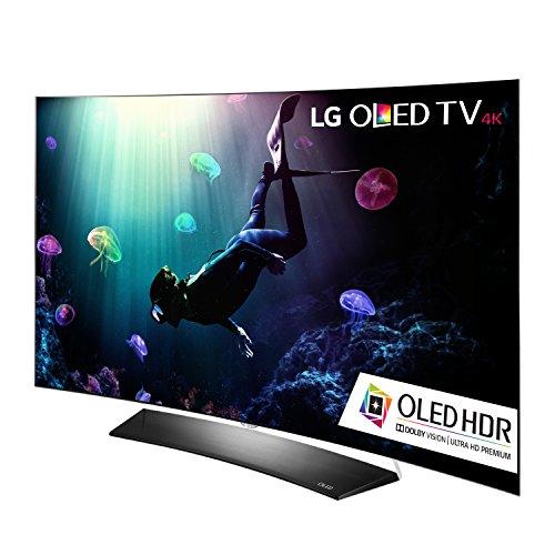 lg electronics c6 series curved 4k ultra hd smart oled tv 2016 model. Black Bedroom Furniture Sets. Home Design Ideas