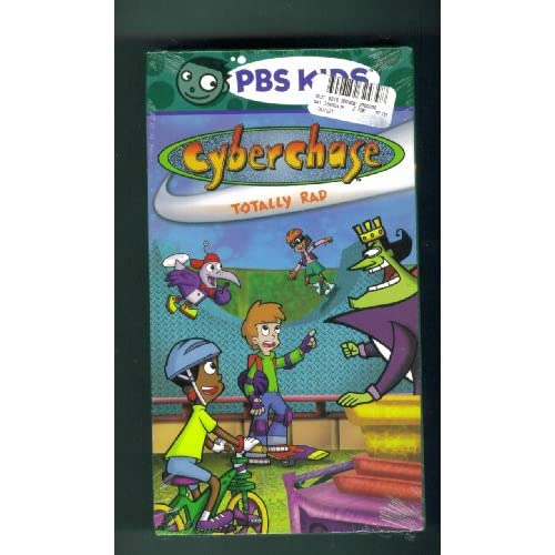 Amazon.com: PBS Kids. CYBERCHASE TOTALLY RAD. VHS.: Fashion T Shirts