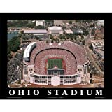 (11x14) Mike Smith Ohio State Buckeyes Ohio Stadium NCAA Sports Poster Print