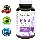 Super Potent & Natural Brain, Memory & Mind Booster ● Power Boost for Day and Night! Increase Function ● Works Fast for Women and Men ● USA Made By Nature Bound Reviews