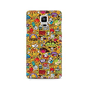 Ebby Keep It Fresh Premium Printed Case For Samsung Note 4 N9108