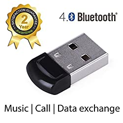 Avantree DG40S Bluetooth USB Dongle Adapter for Laptop, Desktop Data Exchange, Music Stream Ultra high range up to 50 Mtr.