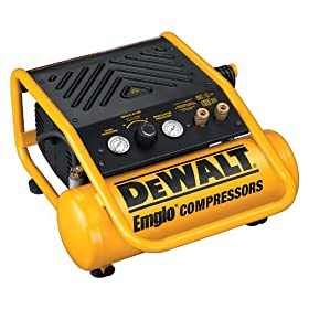 DEWALT D55141  8 Amp 1/2-Horsepower 2-Gallon Oil-Free Single Hot Dog Compressor