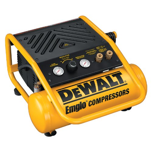 DEWALT D55141  8 Amp 1/2-Horsepower 2-Gallon Oil-Free Single Hot Dog Compressor