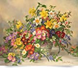 AB/296 Spring Flowers and Poole Pottery (Giclee Art Print), The Fine Art Masters