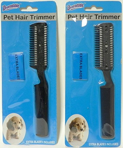 2-pack-manual-pet-hair-trimmer-with-extra-blades-and-comb-grooming-dog-cat-razor
