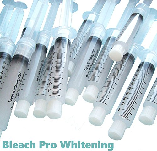 50 Teeth Whitening Gel 10ml Syringes 44% Carbamide Peroxide
