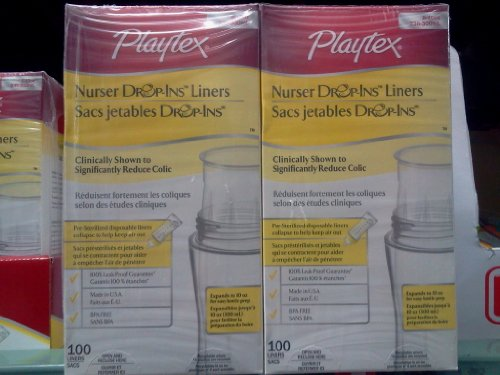 Playtex Nurser Drop-Ins Liners & Sacs Jetables Drop-Ins front-989432