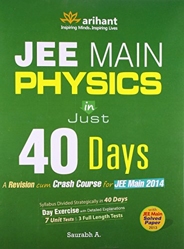 JEE Main Physics in just 40 Days 2014