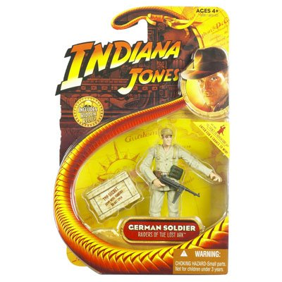 Picture of Hasbro german soldier indiana jones 3 inch figures (B0017ZVC2W) (Hasbro Action Figures)