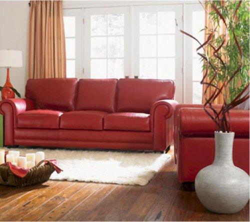 Furniture living room furniture sofa sofa orange
