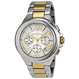 Michael Kors Womens MK5653 Camille Silver and Gold Tone Stainless Steel Watch