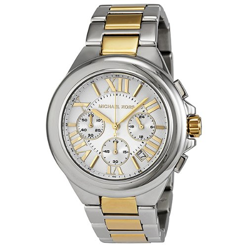Michael Kors Women's MK5653 Camille Silver and
