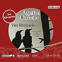 Agatha Christie - Vier Hörspiele Hörspiel von Agatha Christie Gesprochen von: Elmar Wepper, Hans Quest, Gustl Weishappel