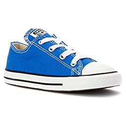 Converse Unisex Baby Chuck Taylor All Star Seasonal Ox (Inf/Tod) - Light Sapphire - 4 Infant