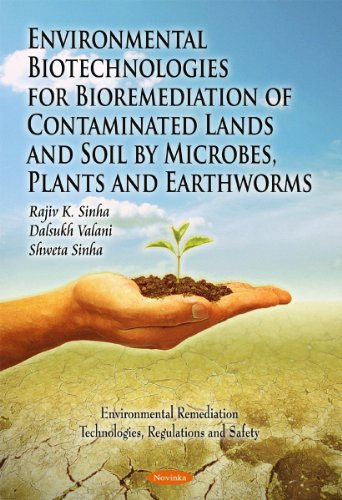 Environmental Biotechnologies for Bioremediation of Contaminated Lands and Soil by Microbes, Plants and Earthworms (Environmental Remediation Technologies, Regulations and Safety)