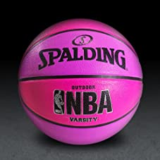 NBA Varsity Neon Basketball - Pink/Purple
