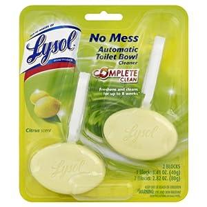 Amazon Com Lysol No Mess Automatic Toilet Bowl Cleaner