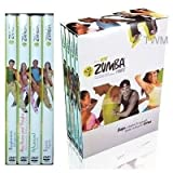 Zumba Fitness Latin Workout Routine 4 Dvds Box-set