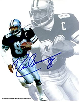 Autographed Drew Pearson 8x10 Dallas Cowboys Photo