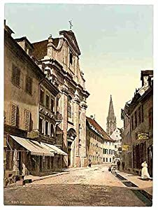 The Univerdity Freiburg Baden A3 Box Canvas Print