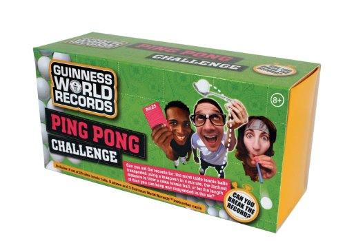 Guinness World Record Ping Pong Challenge