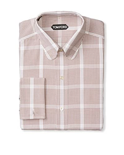 Tom Ford Men's Plaid Dress Shirt