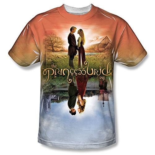 The Princess Bride Poster Sub All Over Front T-Shirt PB143