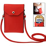 Universal-Litchi Textur Ledertasche Tasche Hülle Tasche mit Umhängeband für LG Optimus Vu P895