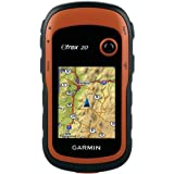 Garmin Etrex 20 + Topo France V3 Light Hiking Sat-Nav 2.2 inch USB Orange