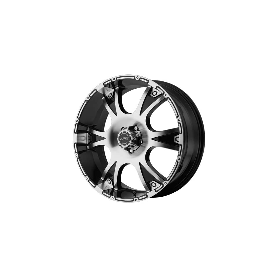 American Racing Dagger 20x8.5 Machined Black Wheel / Rim 6x5.5 with a 15mm Offset and a 106.25 Hub Bore. Partnumber AR88928568315