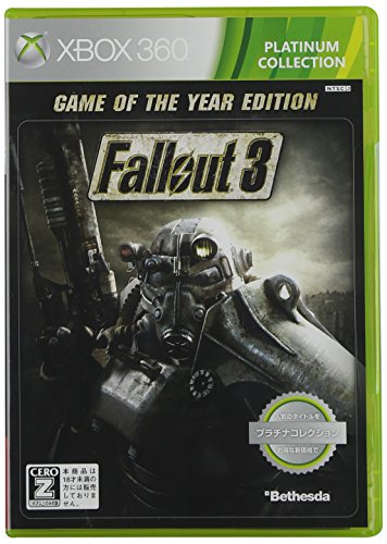 Fallout3 GAME OF THE YEAR EDITION Platinum Collection [CERO rating [Z]]