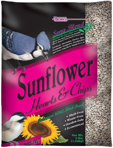 Cheap F.M. Brown's Song Blend Sunflower Hearts and Chips for Pets, 3-Pound (B000793LTG)
